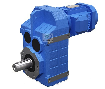 F parallel shaft helical reducer